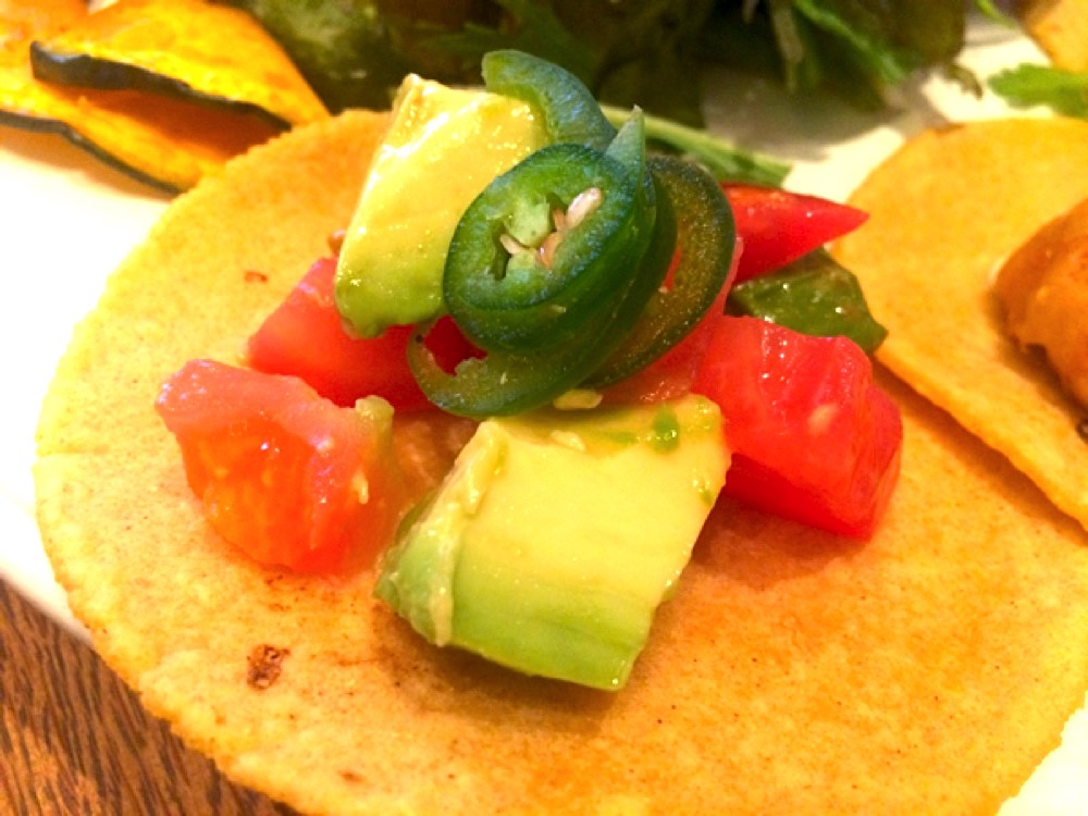 コロコロ野菜のベジタブルタコス