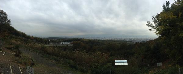 大岩山展望所のパノラマ写真