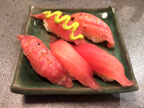 お寿司も選べる!