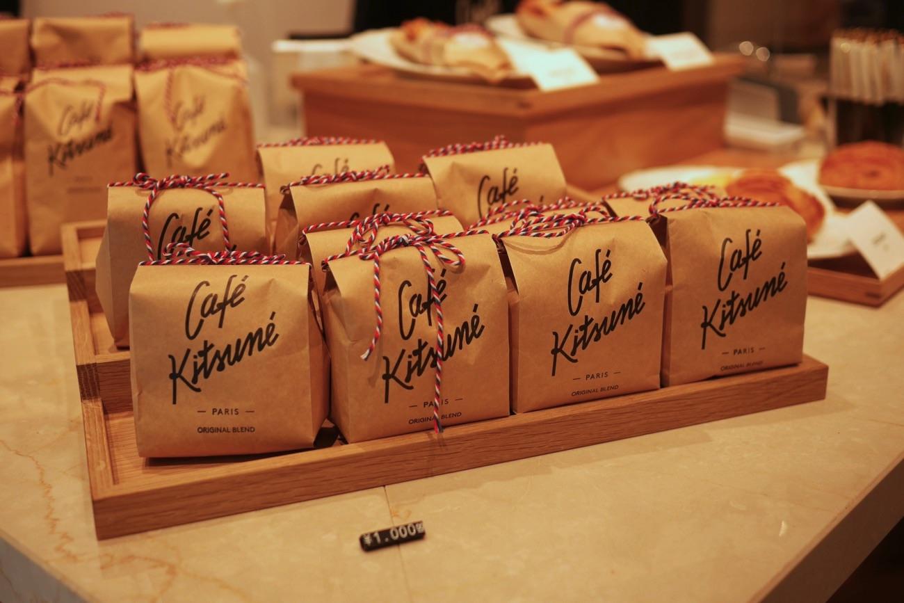 コーヒー豆の販売も