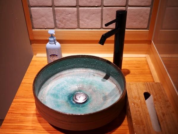「稲荷茶寮」のお手洗い