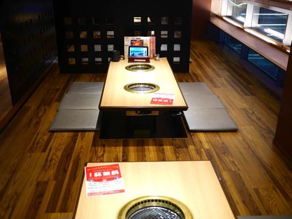 新堀川店の3階の座敷