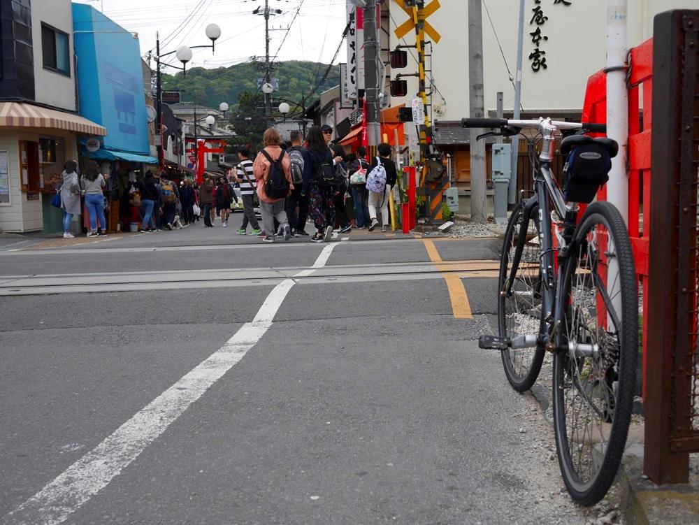 JR奈良線の踏切