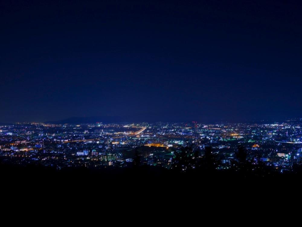荒神峰からの夜景