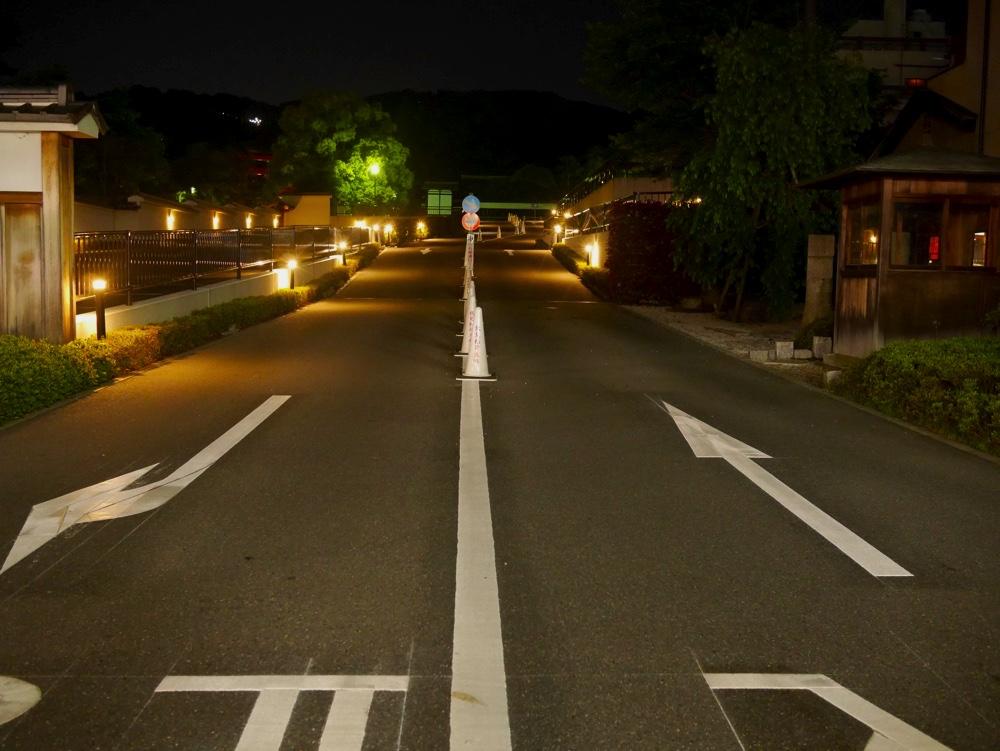伏見稲荷大社の駐車場