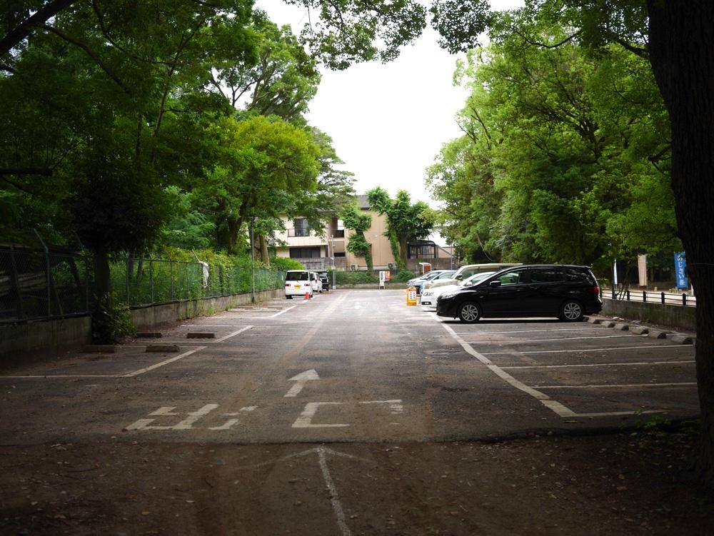藤森神社第一駐車場