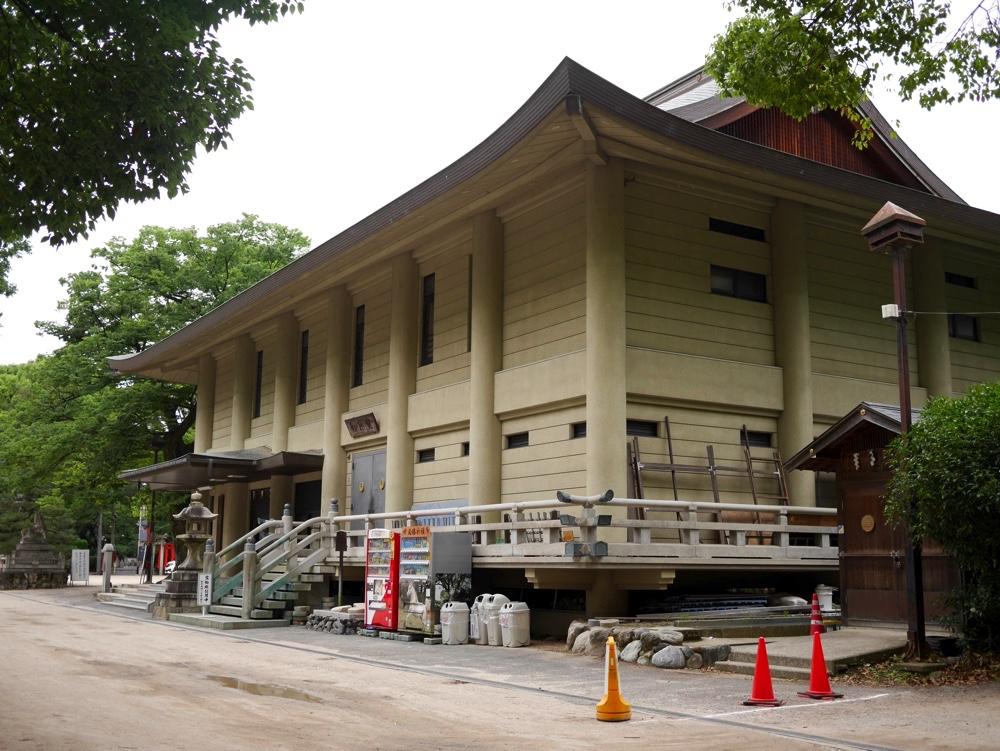 藤森神社の宝物殿