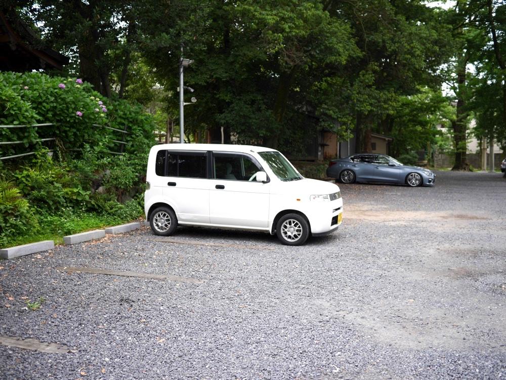 藤森神社第二駐車場