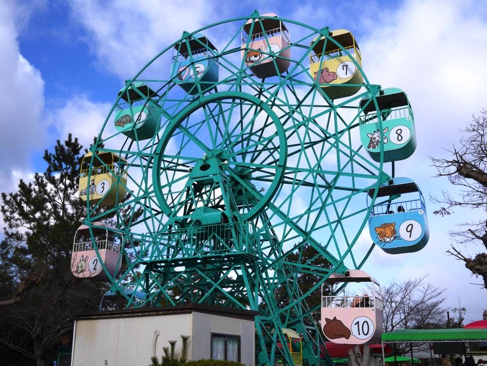 京都市動物園にある観覧車