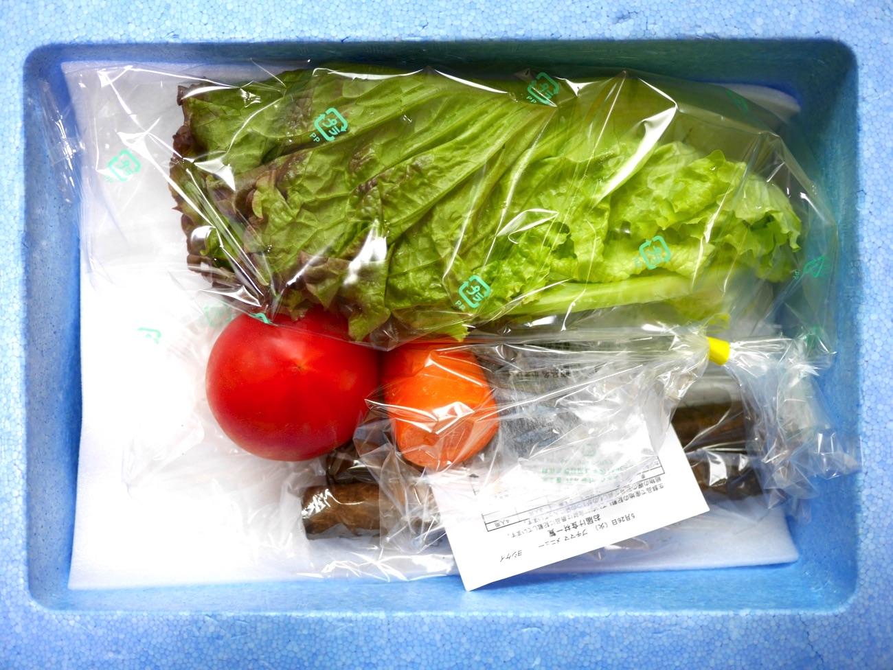 新鮮な野菜だけを料理に使える