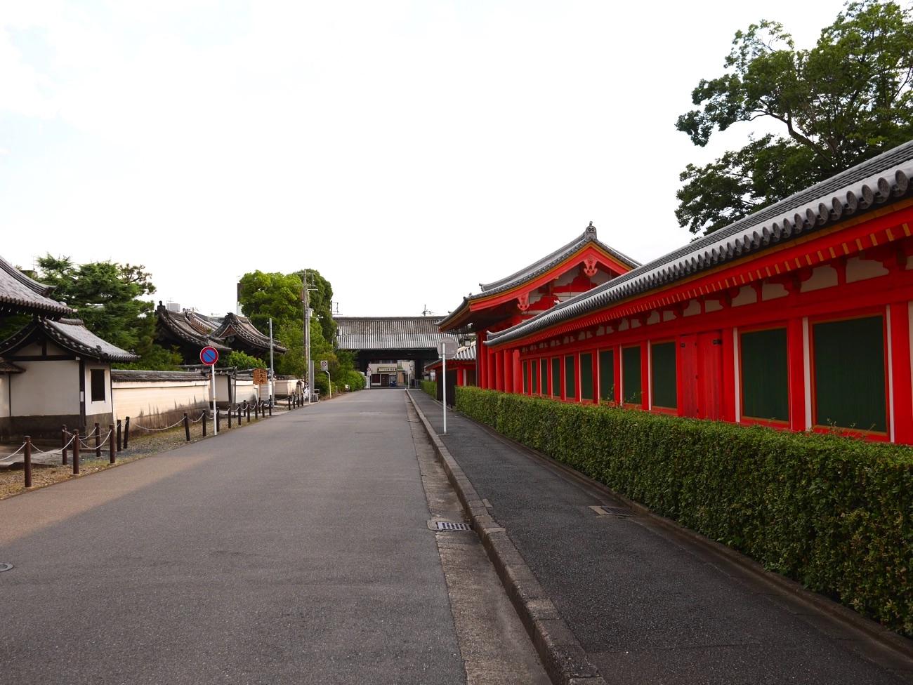 蓮華王院(三十三間堂)南大門