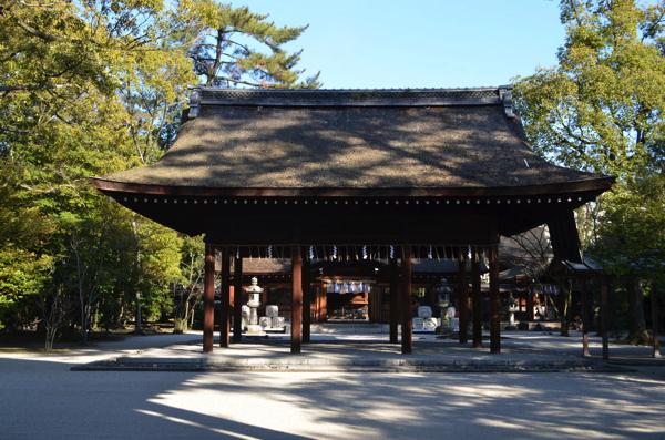 豊国神社の拝殿
