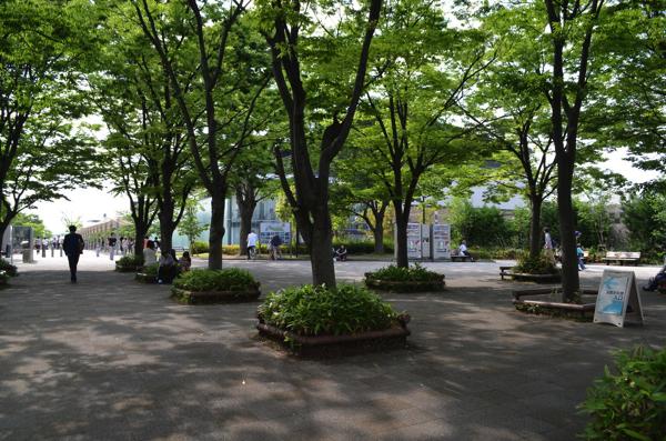 梅小路公園の大宮入口