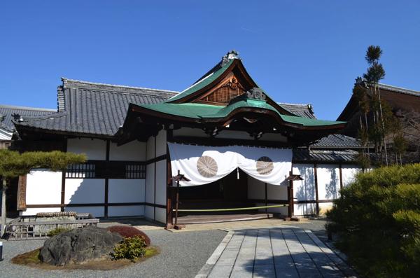 大覚寺の入口
