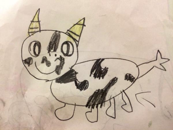 幼児園児の娘が描いた絵本に考えさせられた幼児教育で大切な2つのテーマ | ごりらのせなか