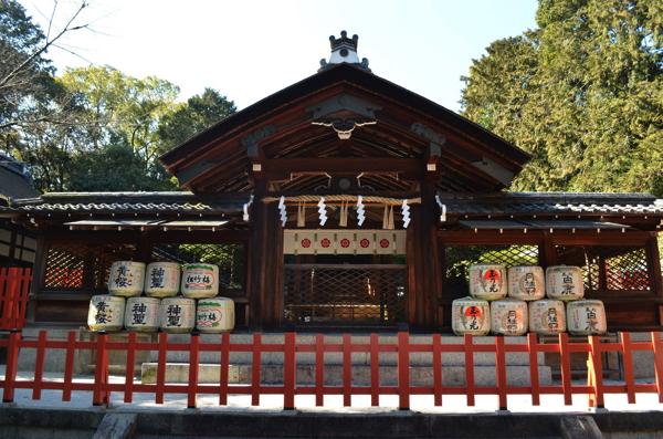 建勲神社の「本殿」