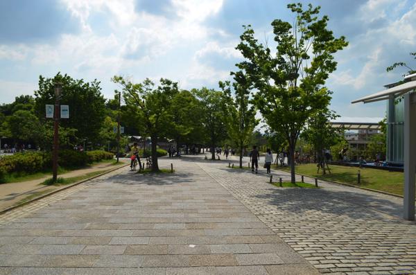 梅小路公園を歩くのは楽しい!