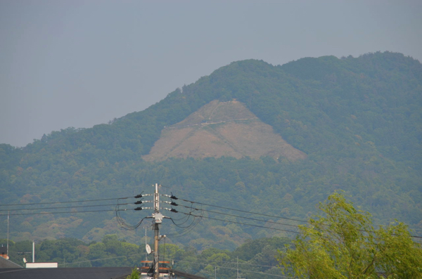 大文字山(如意ヶ嶽)に登ったよ。すべては「消し炭」を拾う8月17日のため!   ごりらのせなか