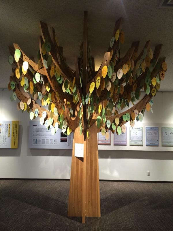 日中韓共通808字の木