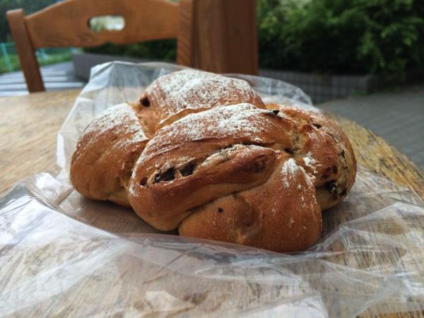 ベーカリーカフェ ガーデンズのいちじくのパン