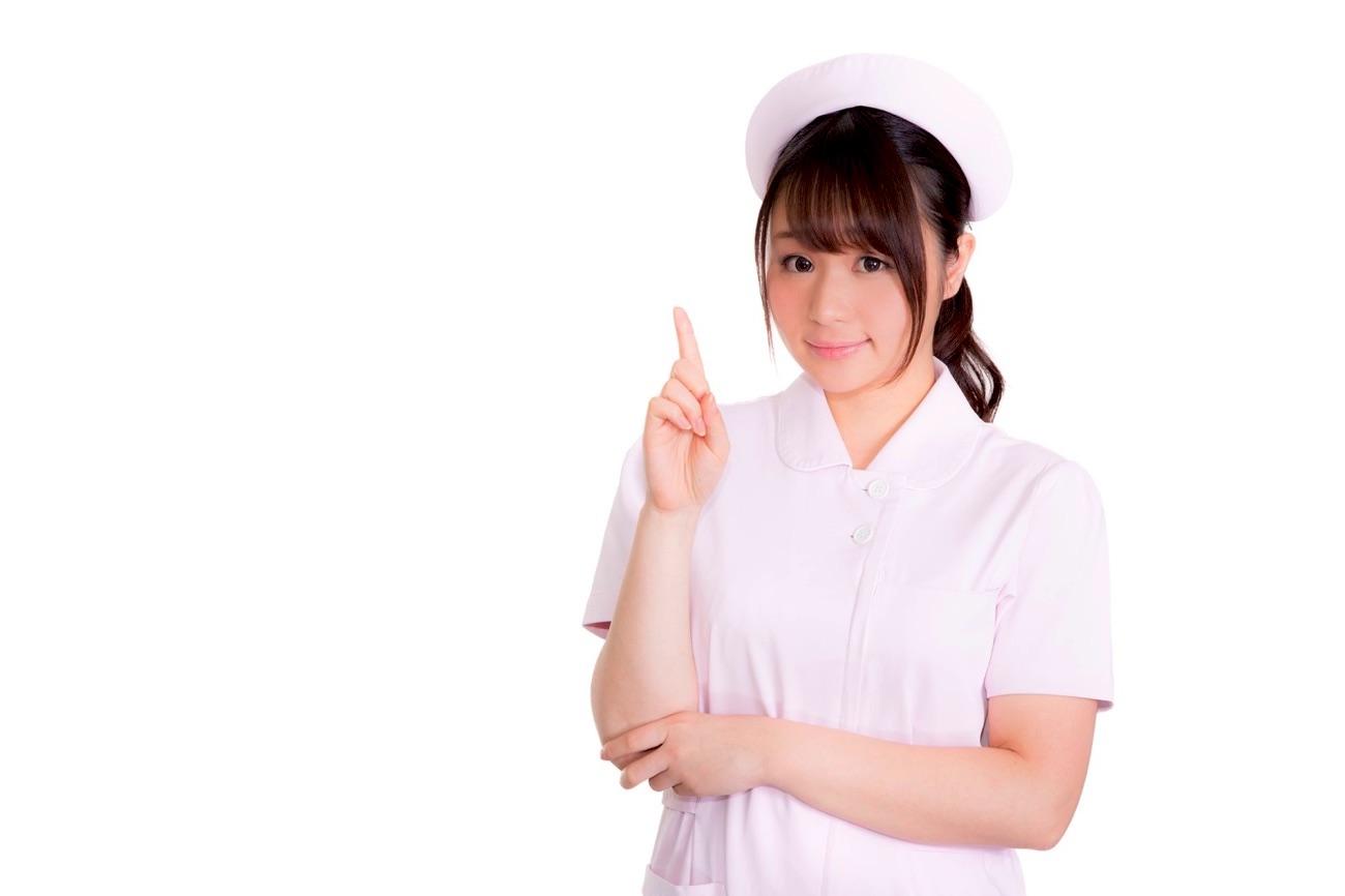 看護師さんに症状を聞かれる