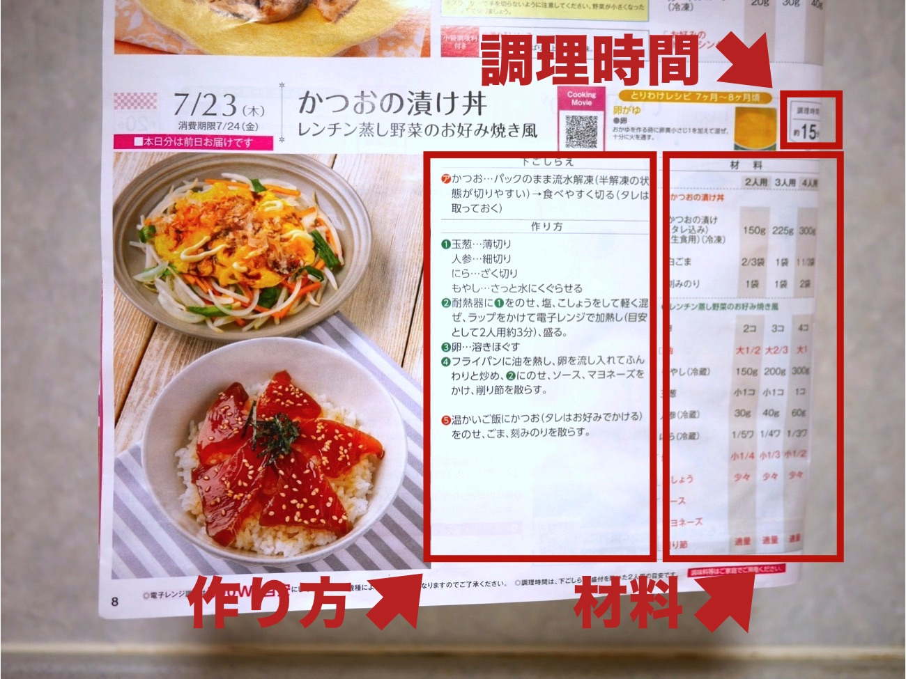 ヨシケイのレシピ