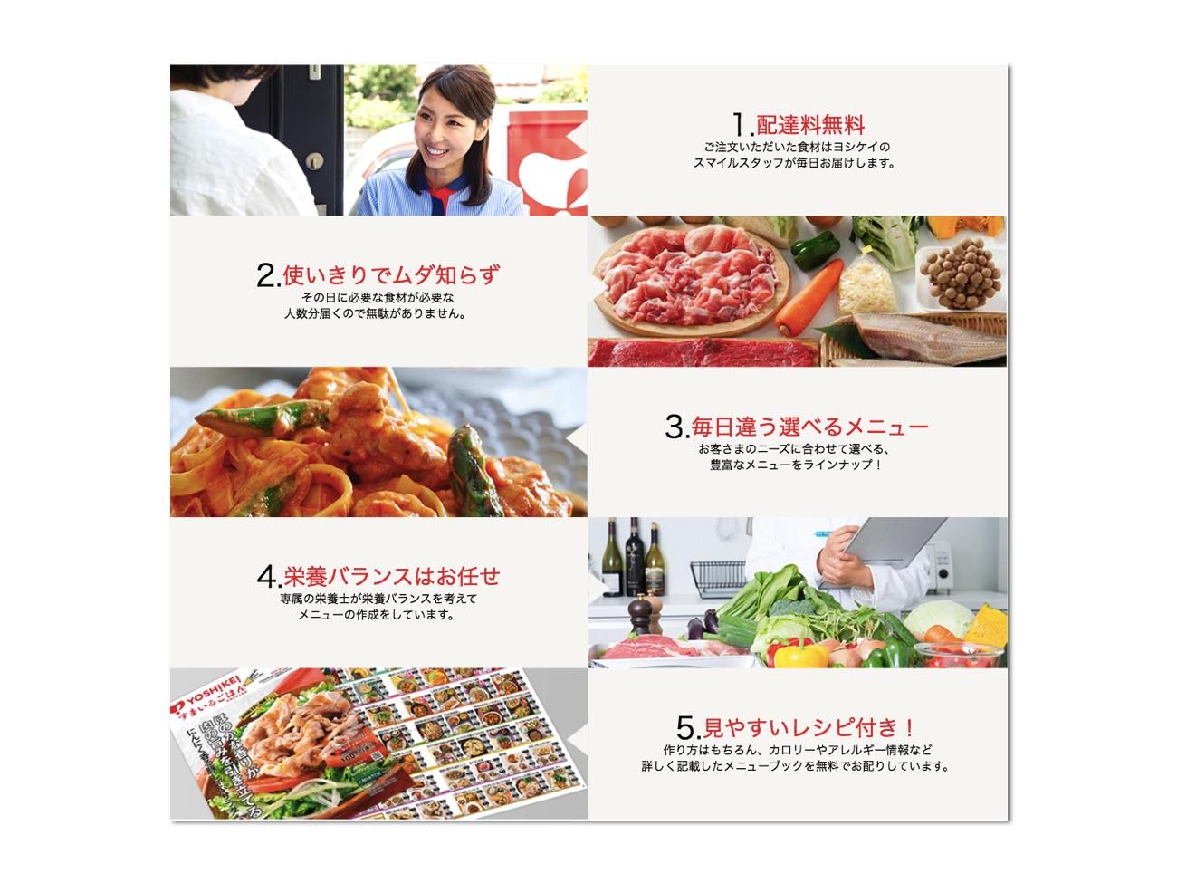 ヨシケイのWebサイト